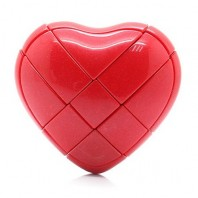 Red YJ Love Cube. Red Heart
