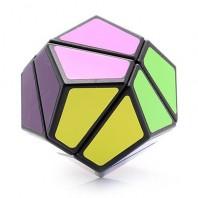 2 x 2 LanLan Dodecahedron Megaminx. 12 colors. 12 sides Base black.