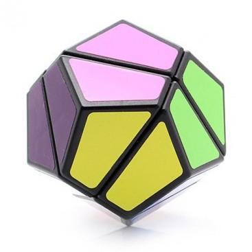 LanLan 2x2 Dodecahedron Megaminx. 12 Colores. 12 lados Base Negra.