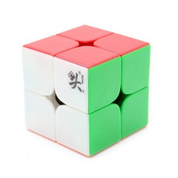 Dayan Zhanchi 50mm 2x2 stickerless. 2x2x2 Solid sin pegatinas.