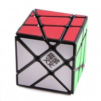 Moyu YJ Crazy YiLeng 3x3x3 Speed Magic Cube. Black Base