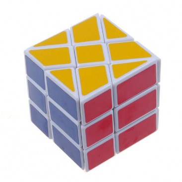 YJ Fisher Windmill 3x3x3 Cubo Mágico. Base Blanca