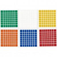 ShengShou 8x8 Stickers Standard Set. Pegatinas Base Negra