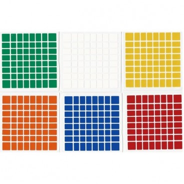 ShengShou 8x8 Stickers Standard Set. Magic Cube Replacement