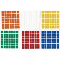 ShengShou 7x7 Stickers Standard Set. Pegatinas Base Negra
