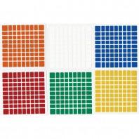 ShengShou 9x9 Stickers Standard Set. Pegatinas Base Negra