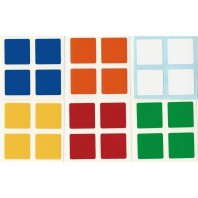 East-Sheen 2x2 Stickers Standard Set. Magic Cube Replacement