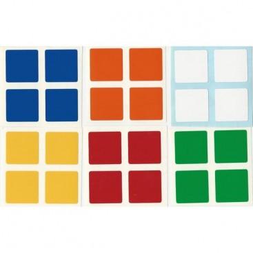 East-Sheen 2x2 Stickers Standard Set. Pegatinas Base Negra