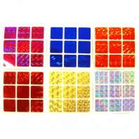 3x3 Stickers Mosaic Set. Magic Cube Replacement