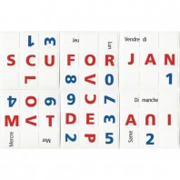 3x3 Stickers Calendrier Perpétual Ltd. Edition Frances