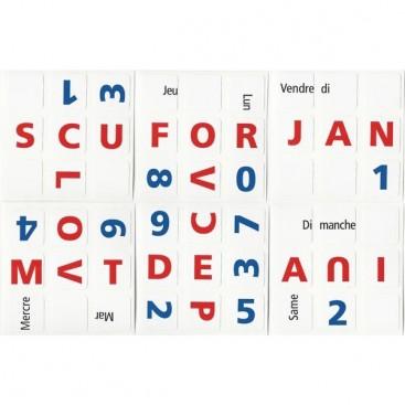 3x3 Stickers Calendrier Perpétual Ltd. Edition