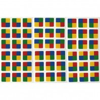 3x3 Stickers Tartan Cube Ltd. Edition