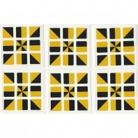 3x3 Stickers Dual-Colored Faces Ltd. Edition