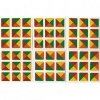 3 x 3 Sticker Dreieck Tartan Ltd. Edition