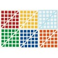 5x5 Stickers Ruben King Standard Set. Magic Cube Replacement