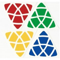 Master Pyramorphinx Stickers Set. Magic Cube Replacement
