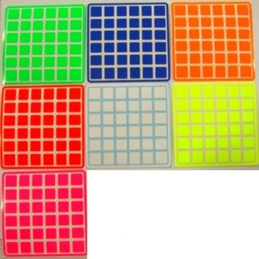 UltraViolet 6x6 Stickers Set. Pegatinas Reflectantes