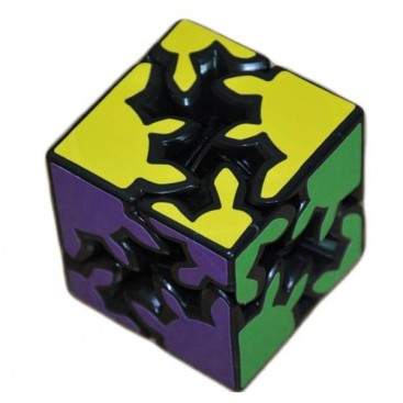 Quick Finger 2-Layer Gear Cube. Black Base