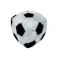 V-Cube 2x2 Soccer 2b Pillow. Glossy Magic Cube
