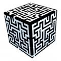 V-Cube 3x3 Maze 3 Flat. Cubo Brillante Laberinto