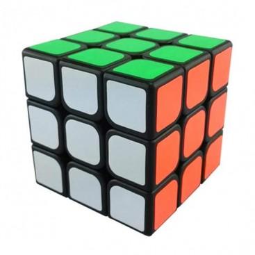 YJ GuanLong 3x3 Magic Cube Black. Base Noire