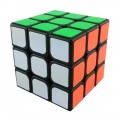 YJ GuanLong 3x3 Magic Cube Black. Schwarze Basis