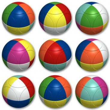 Esfera 2x2 V. Marusenko 2x2x2 Triangular. Nivel 5