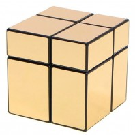 Cubo 2x2x2 Mir-Two oro brillo. Mirror Gold 2x2.