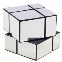 Mirror Silver 2x2x2 Mir-Two. Mirror's 2x2 Magic Cube