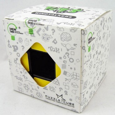 Magic vacuum or VOID cube CUBE 3 x 3 white BASE.