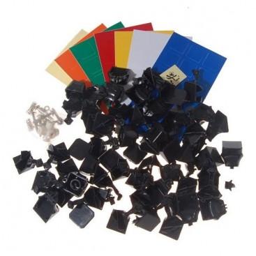 Kit DIY Dayan V Zhanchi 3x3x3 Base Negra