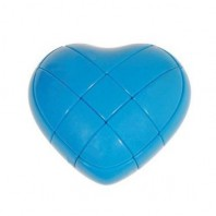 YJ LOVE HEART CUBE BLUE