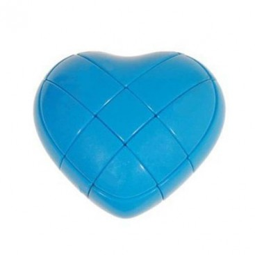Blue YJ Love Cube. Blue Heart