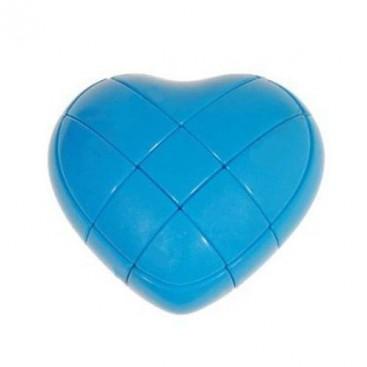 Blue YJ Love Cube. Blue Heart