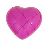 YJ LOVE HEART CUBE PINK
