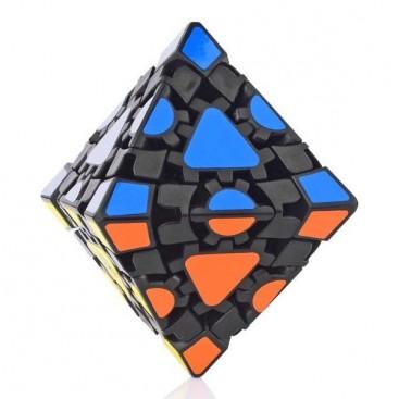 LanLan Gear Octahedron Simple Stickers. Black Base