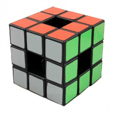 LanLan Hollow 3x3 Void Magic Cube. Black Base