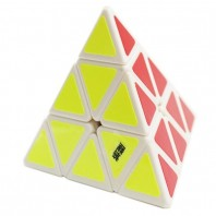 Moyu Pyraminx Magic Minx. White Base