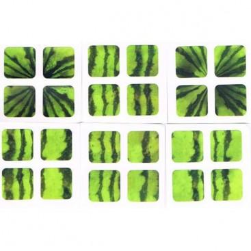 2x2 Stickers Arbuz (Watermelon) Ltd. Edition