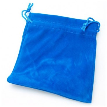 Blue Velvet Bag for Magic Cubes