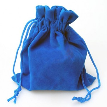 Sachet Bleu de Velours pour Magic Cubes