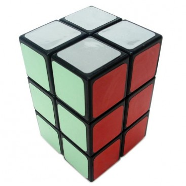 Z-Cube 2x2x3 Magic Cuboid. Black Base