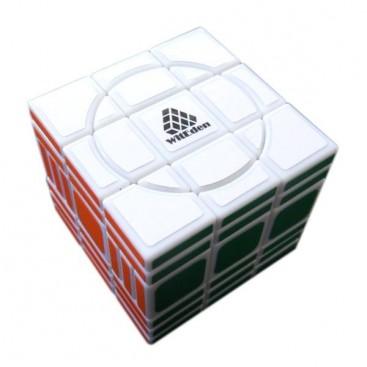WitEden Super 3x3x6 II. Cubo Super Crazy 336 Base Blanca