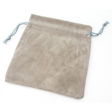 Gray Velvet Bag for Magic Cubes