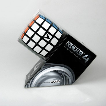 Nuevo V-cube 4 Flat. Base Negra. Cubo 4x4 V-cube.