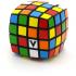 V-Cube 4 Flat 4x4x4 Magic Cube. Black Base