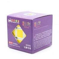 3x3x3 Magic Cube Aurora Shengshou III. Base preto 3x3x3 Jiguang Sheng-shou