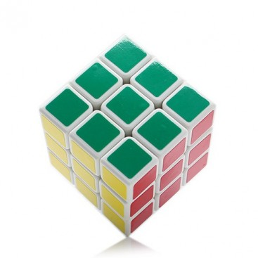 3x3x3 Zauberwürfel Aurora Shengshou III. Aurora Shengshou 3x3 Zauberwürfel mit schwarzen Untergrund