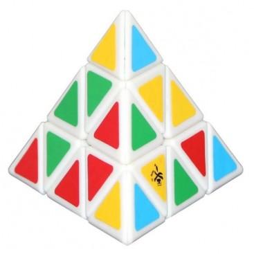 Dayan Pyraminx Pirámide Mágica. Base Blanca