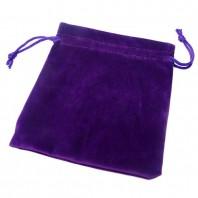 Bolsa Púrpura de terciopelo para Cubos Mágicos